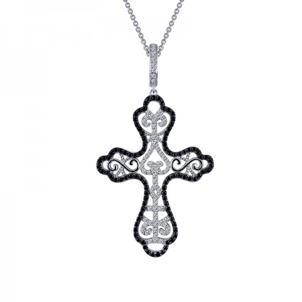 Lafonn Cross Pendant Necklace