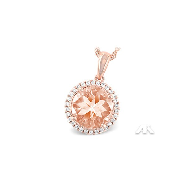 Allison Kaufman Morganite Necklace