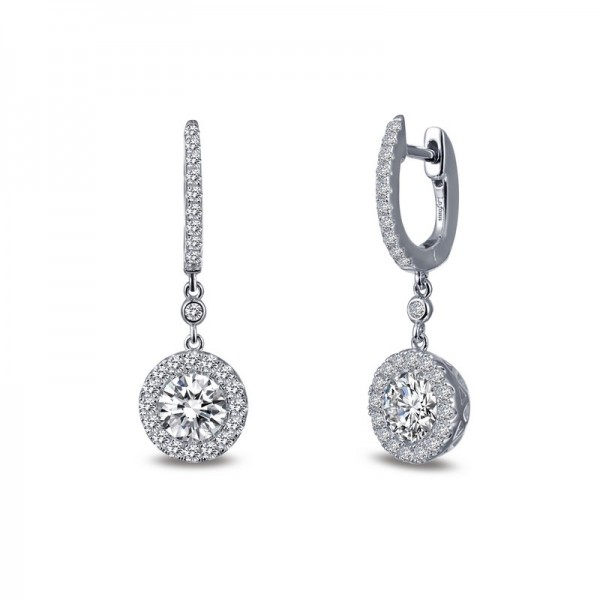 Lafonn Halo Drop Earrings