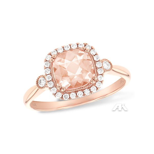 Allison Kaufman Morganite Fashion Ring