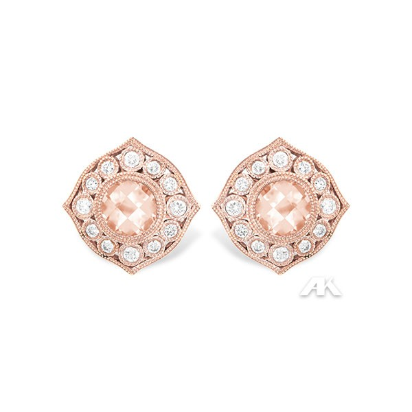 Allison Kaufman Morganite Earrings