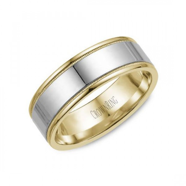 Classic Wedding Bands  - WB-6811-M10