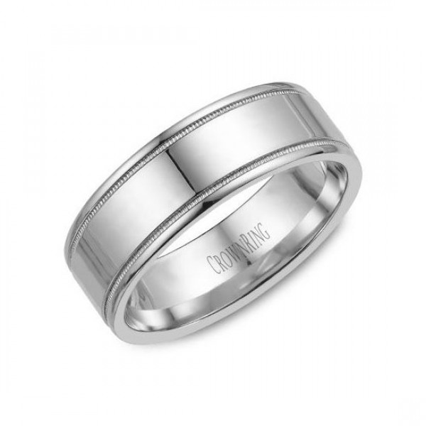Classic Wedding Bands  - WB-6815-M10