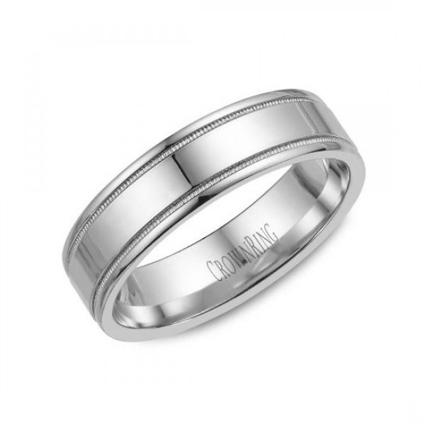 Classic Wedding Bands  - WB-6901-M10