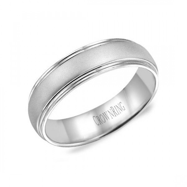 Classic Wedding Bands  - WB-6921-M10
