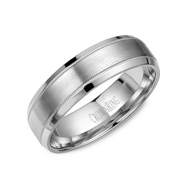 Classic Wedding Bands  - WB-9915-M10