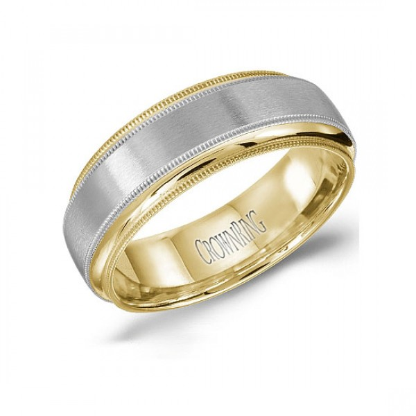 Classic Wedding Bands  - WB-9977-M10