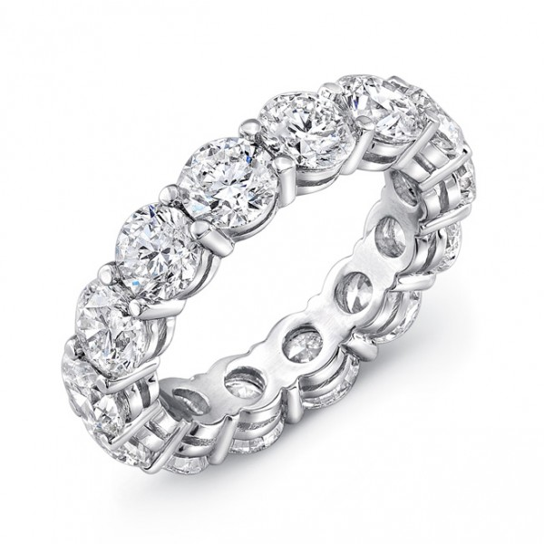 Uneek Platinum Diamond Eternity Band -ETRB200