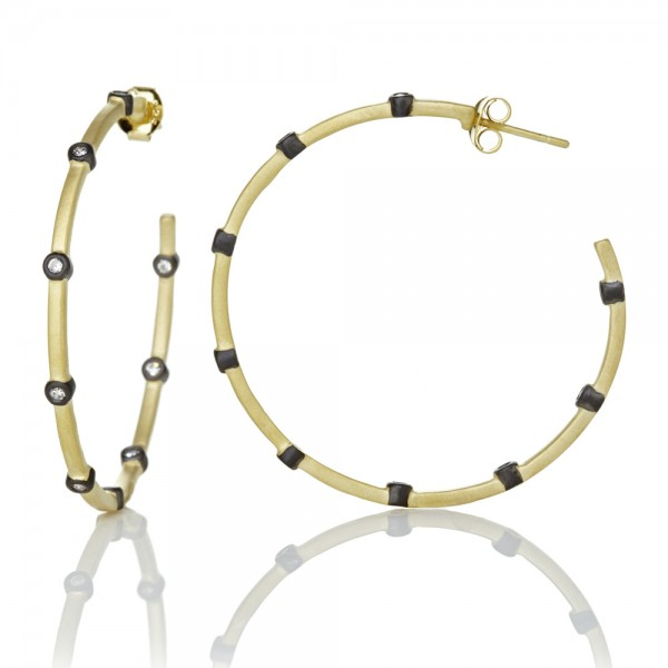 Signature Thin Bezel Station Hoops