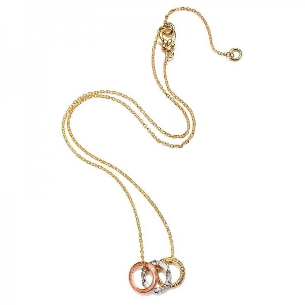 Circle Charm Necklace 247N0127-01