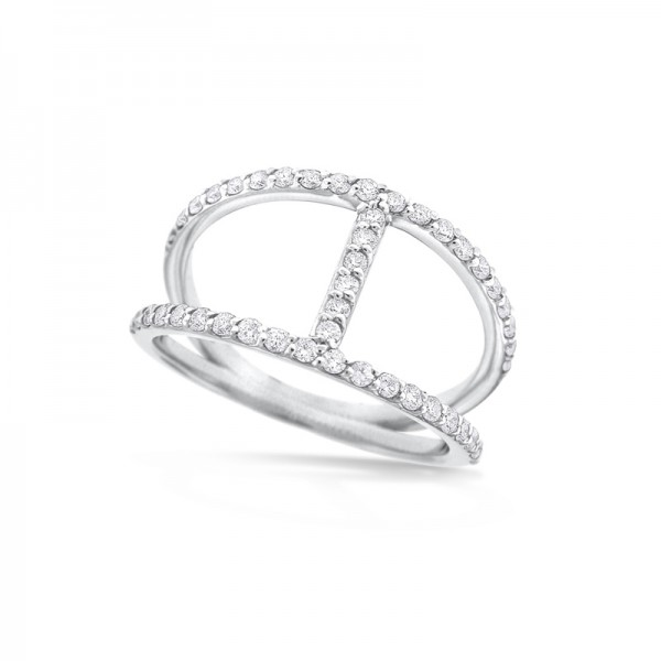 14K Diamond Fashion Ring