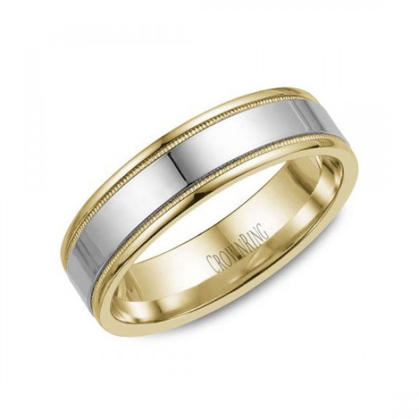 Classic Wedding Bands  - WB-6912-M10