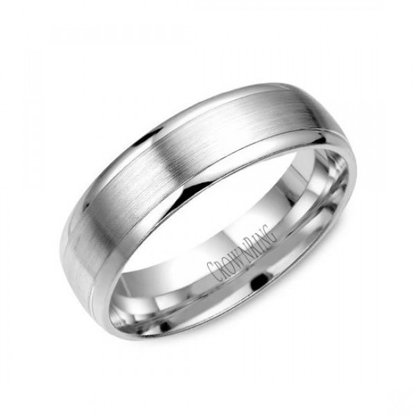 Classic Wedding Bands  - WB-7019-M10
