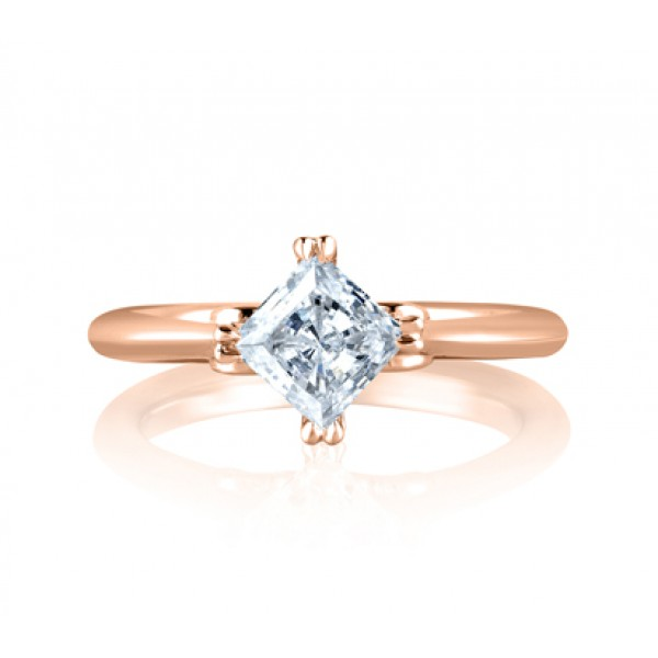 Art Designed Princess Engagement Ring