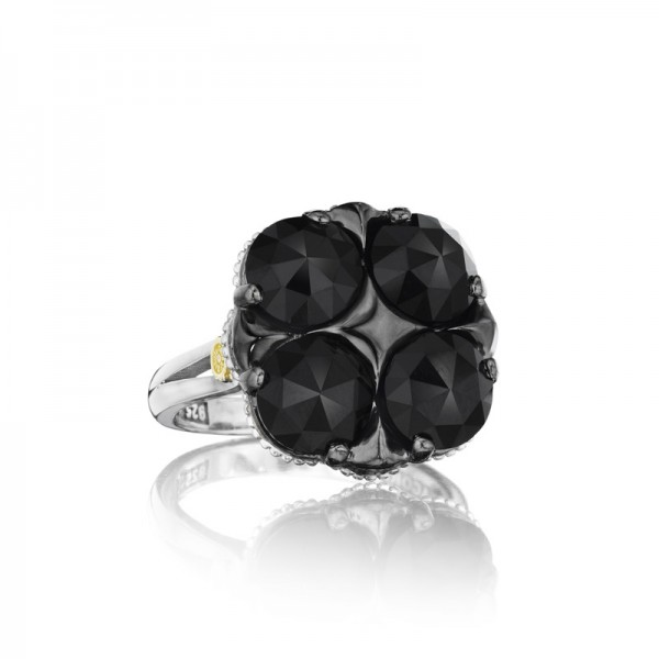 Tacori City Lights After Dark Lotus Four Gem Ring