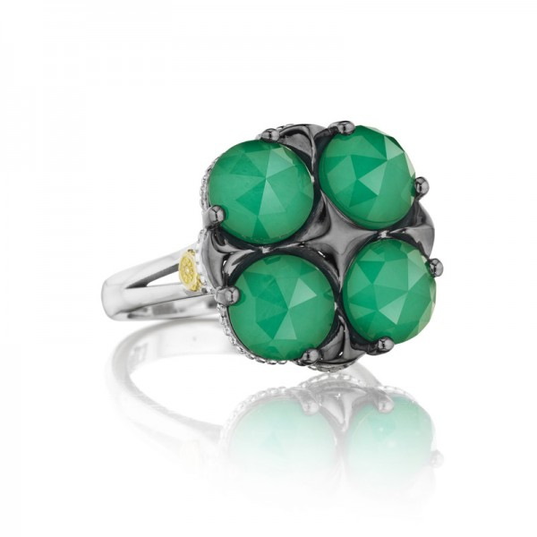 Tacori City Lights Lotus Four Gem Ring