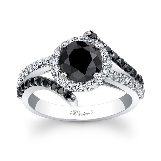 black diamond engagement ring - Black Diamond Wedding Rings For Him