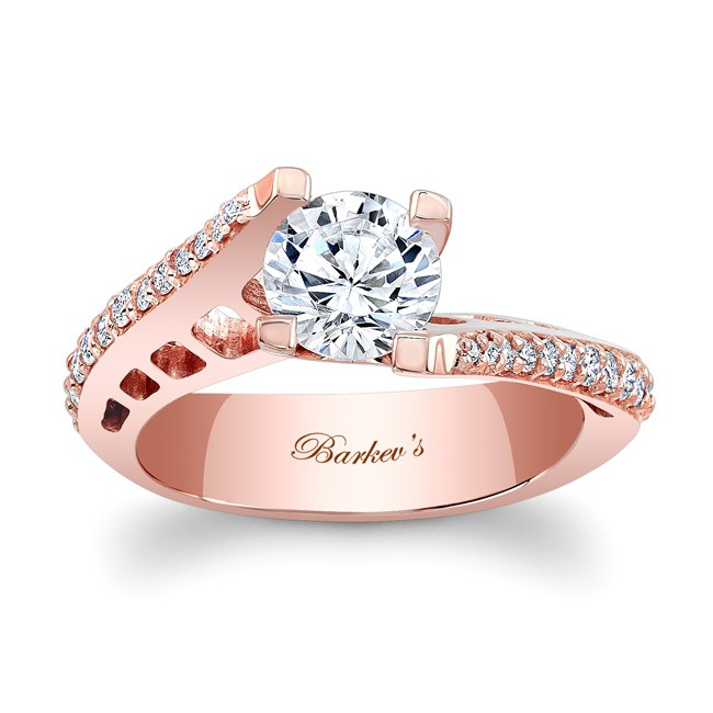 574adf687 Barkev's Rose Gold Engagement Ring 7927LPW