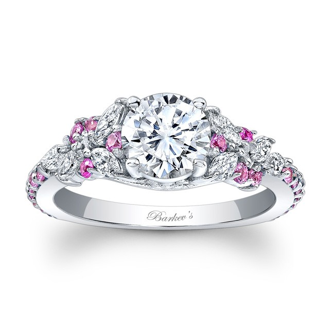 3bf0765b6 Barkev's Pink Sapphire Engagement Ring 7932LPSW