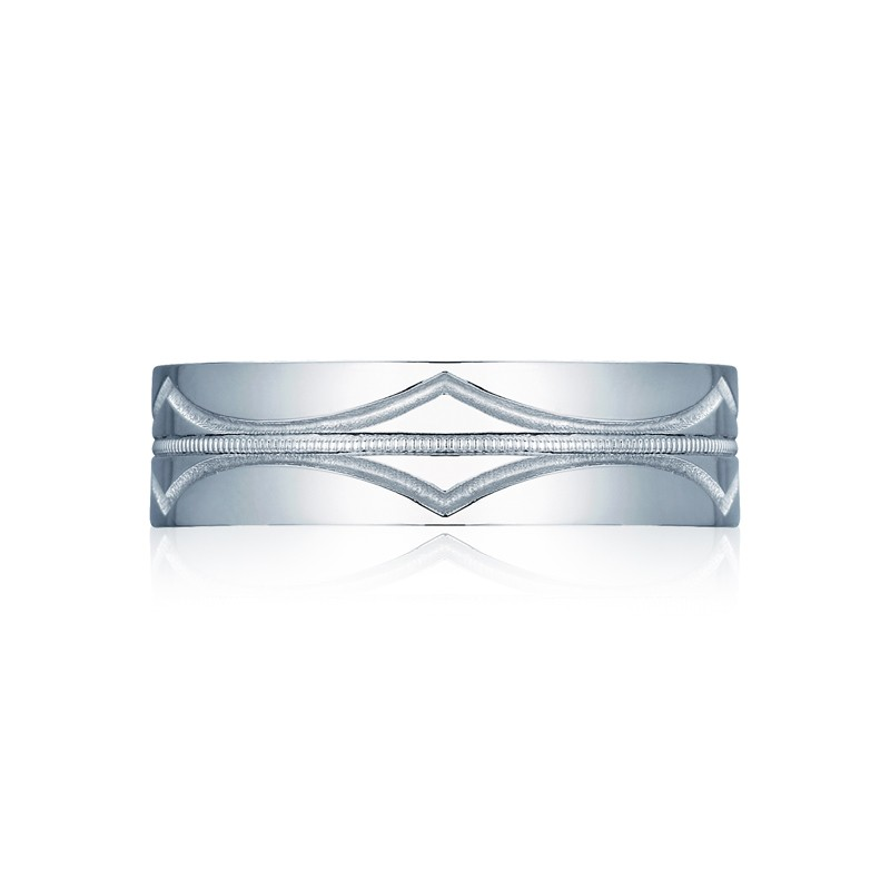 Tacori Sculpted Crescent Collection Classic Diamond Band 68-6S